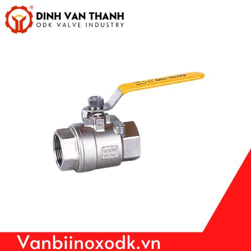 Van Bi Inox Tay Vàng