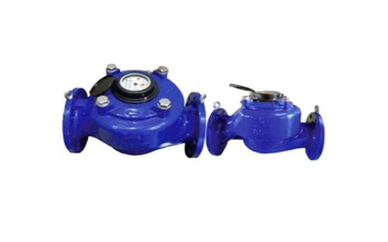Đồng hồ đo lưu lượng dạng cơ trục đứng woltman dpms 50-200