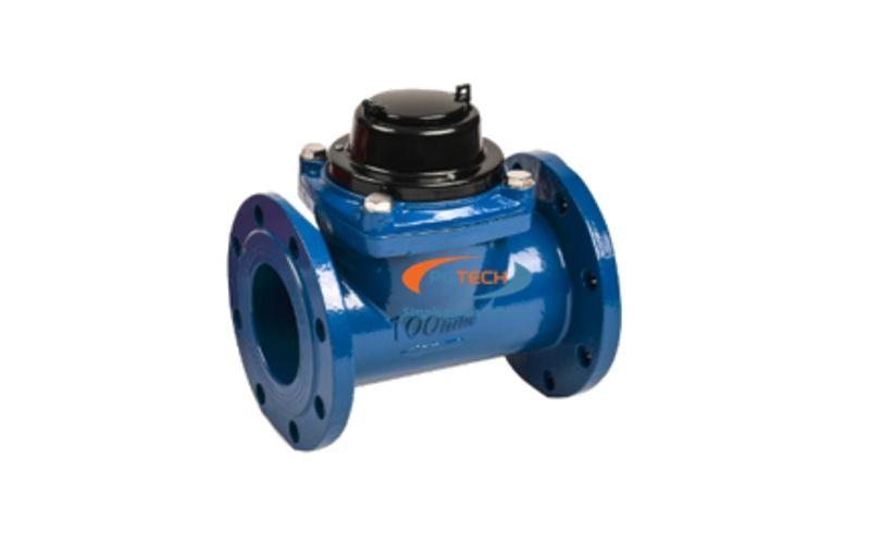 Đồng hồ đo lưu lượng nước dạng cơ lắp bích dn50-dn200