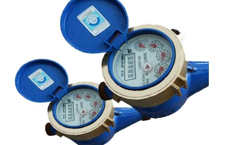 Đồng hồ nước DN20 hoạt động từ tính nên mặt đồng hồ hoàn toàn khô ráo và cách ly với nước