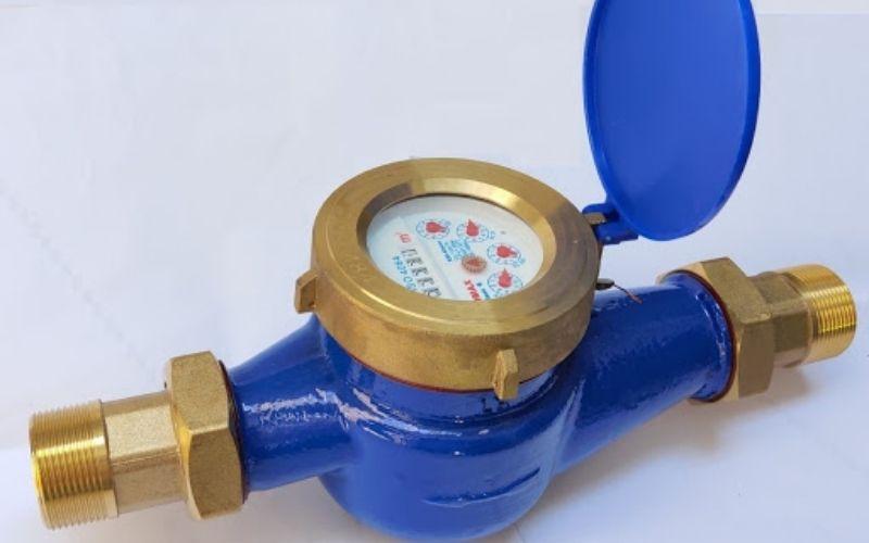 Đồng hồ nước sinh hoạt dùng đo lượng nước sử dụng trong các hộ gia đình hàng tháng