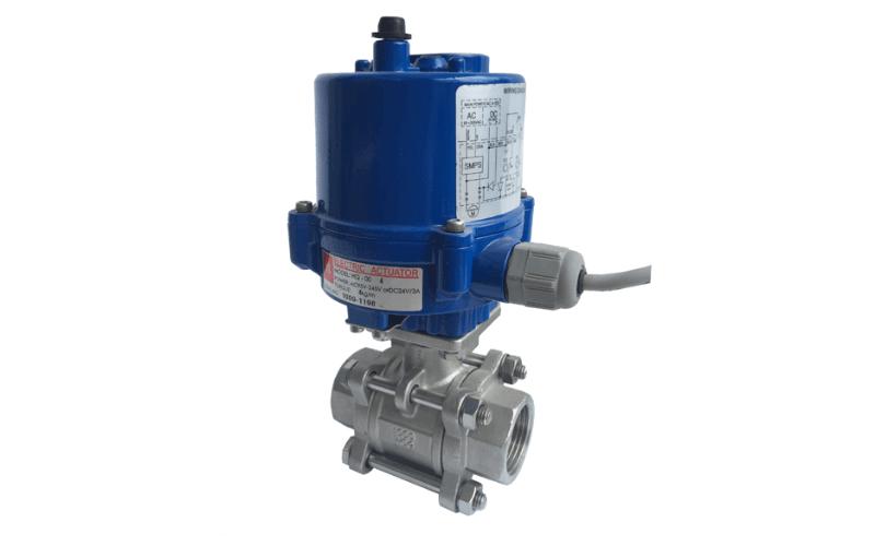 Van bi điều khiển bằng điện được ứng dụng rộng rãi trong các ngành công nghiệp cấp thoát nước, hệ dẫn khí