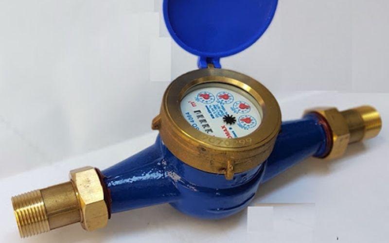đồng hồ nước có kích thước nhỏ thường, phù hợp đo nước trong hộ gia đình, nhà trọ