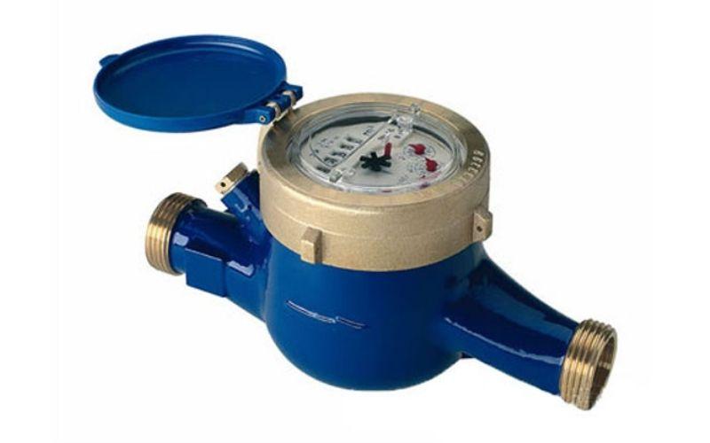 Đồng hồ nước nối ren chuyên đo nước sạch, nước thải đã qua xử lý