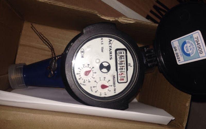 Đồng hồ nước Actaris có khả năng chống ăn mòn cao