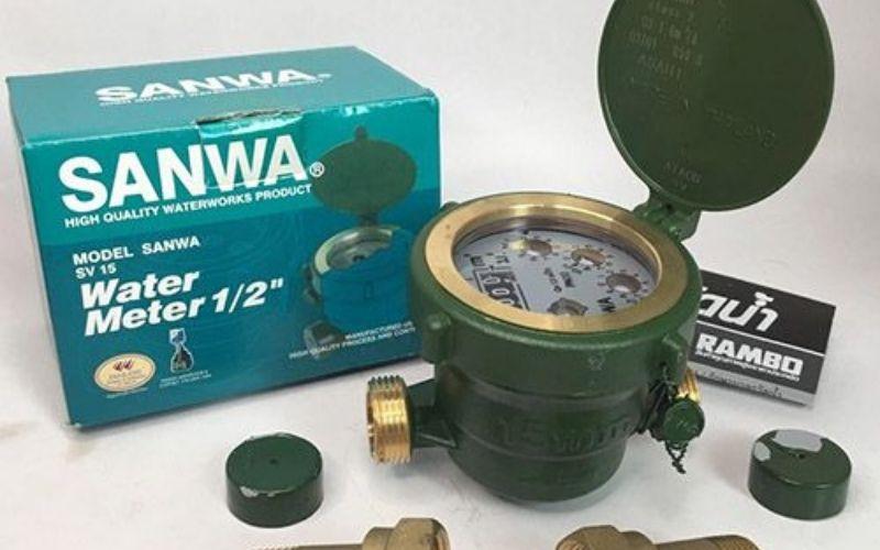 Đồng hồ nước Sanwa