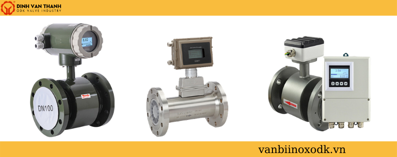 Các loại đồng hồ đo nước thải