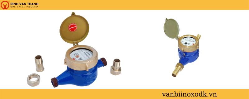 Đồng hồ fuda lắp ren