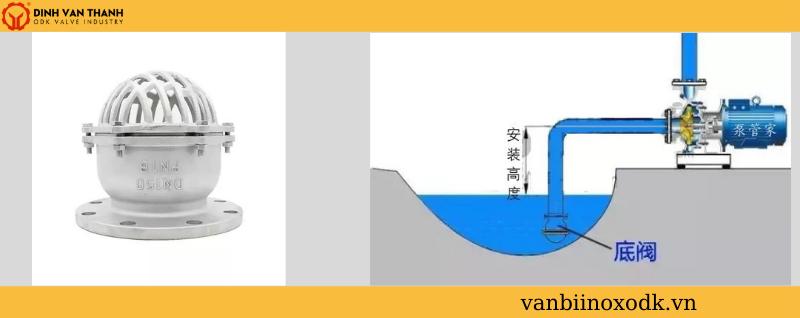 Cách lắp đặt rọ bơm inox 304