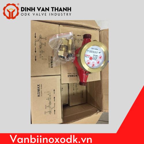 Đồng hồ nước nóng komax
