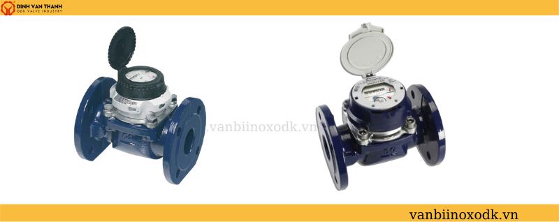 Đồng hồ nước sensus dn100 mặt bích