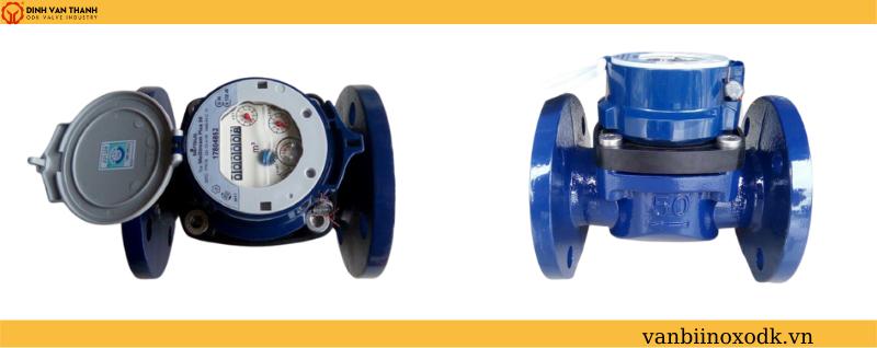 Đồng hồ nước sensus dn80 lắp bích