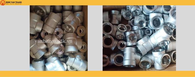 Tê hàn áp lực inox 316L