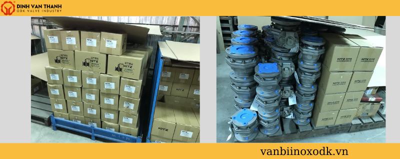 Van bi inox kitz 10utb tại kho
